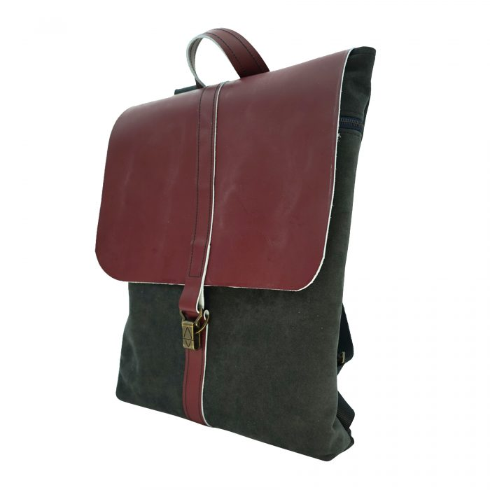 Bagabu custom made leather backpack