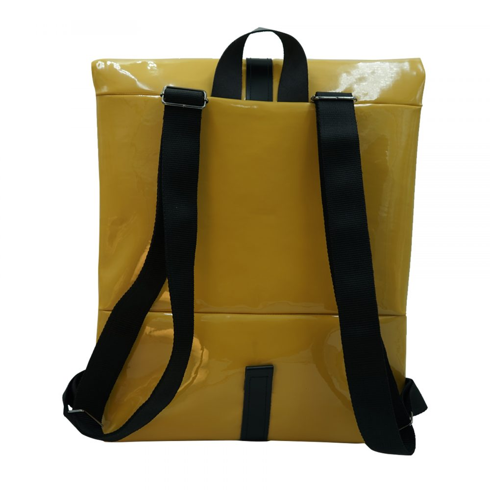 Handmade sustainable leather backpack dora from Bagabu