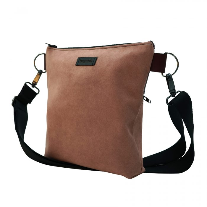 Handmade sustainable leather bag albano from Bagabu