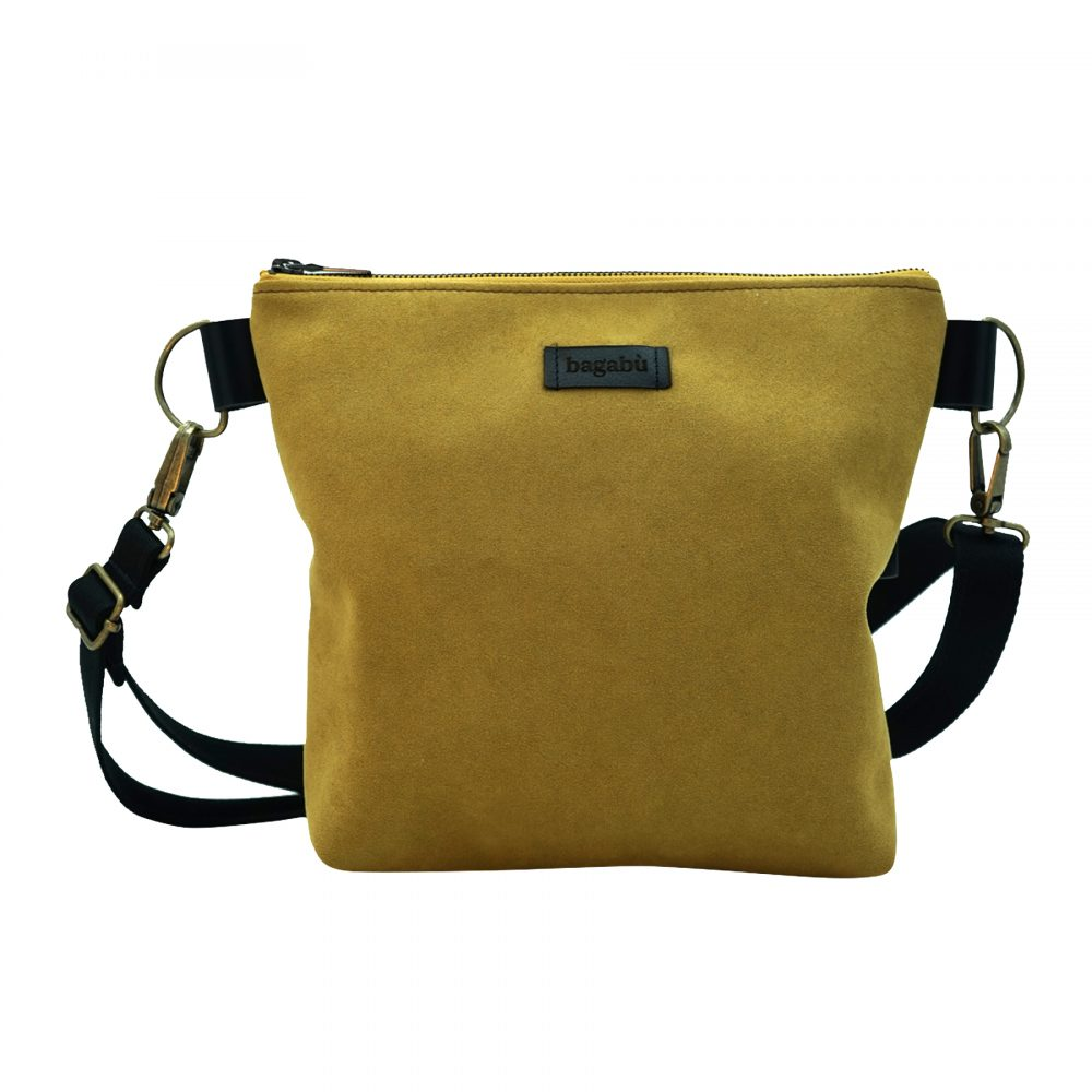 Handmade sustainable leather bag amadeo from Bagabu
