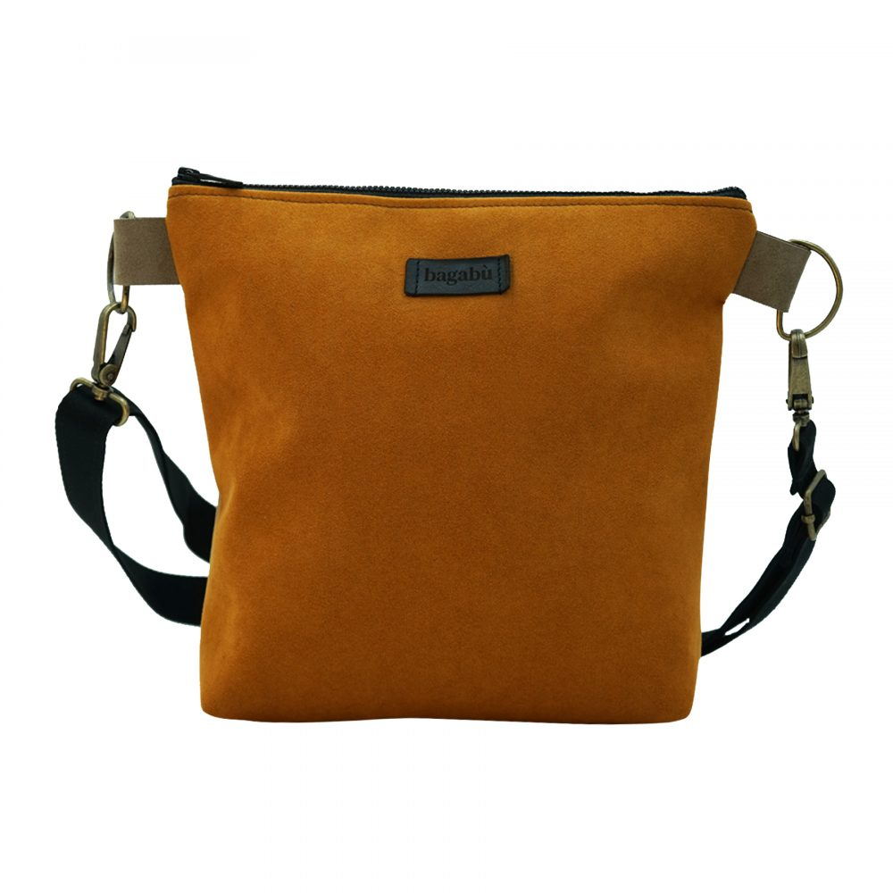 Handmade sustainable leather bag cosmo from Bagabu