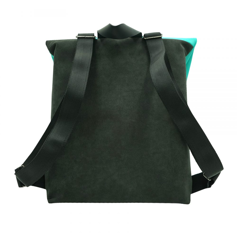 Handmade sustainable leather backpack alex from Bagabu