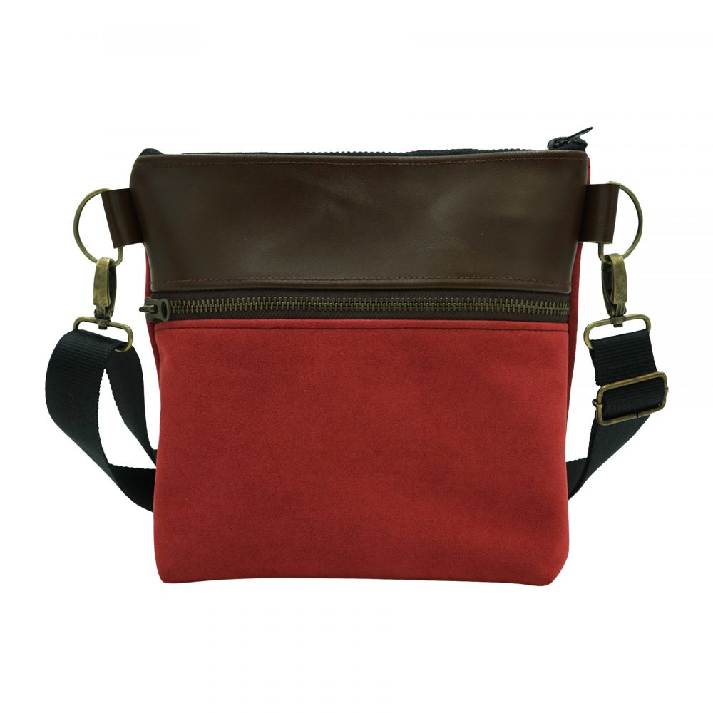 Handmade sustainable leather bag Dada from Bagabu