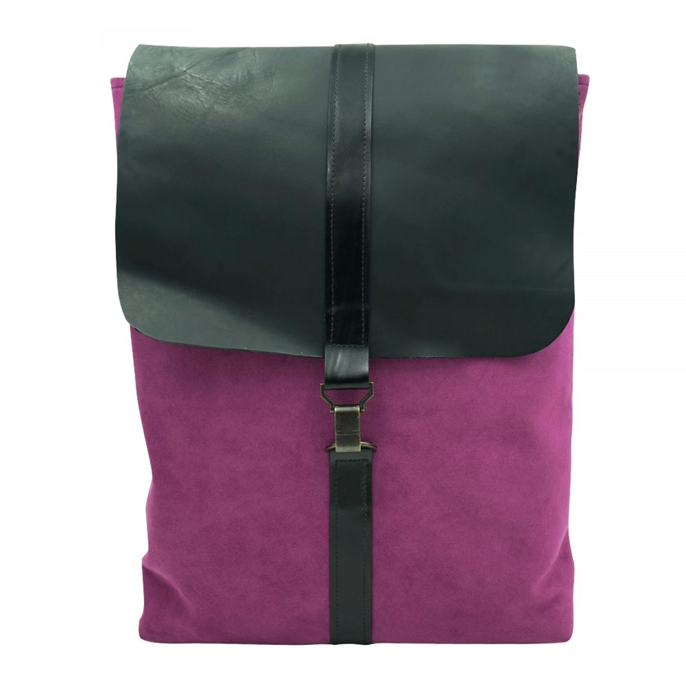 purple lilac backpack by bagabu sustainable