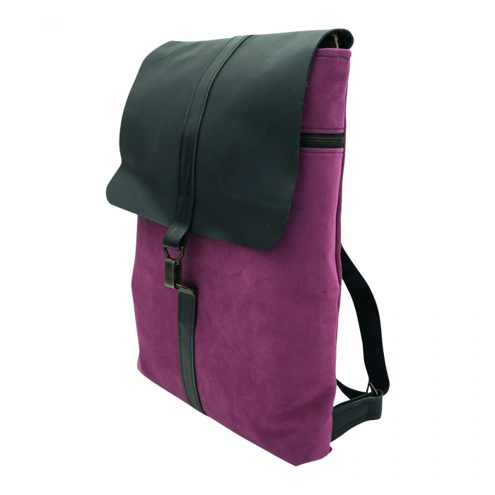 purple lilac backpack by bagabu
