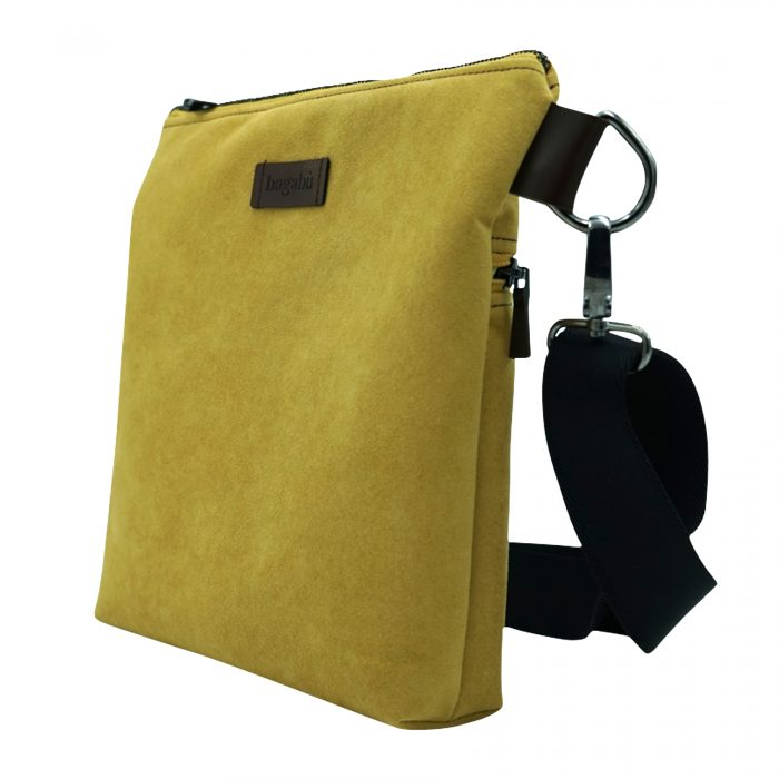 yellow cross body bag handmade
