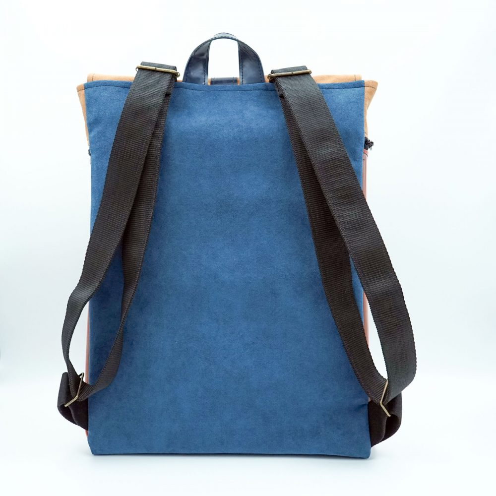 sutainable backpack blue