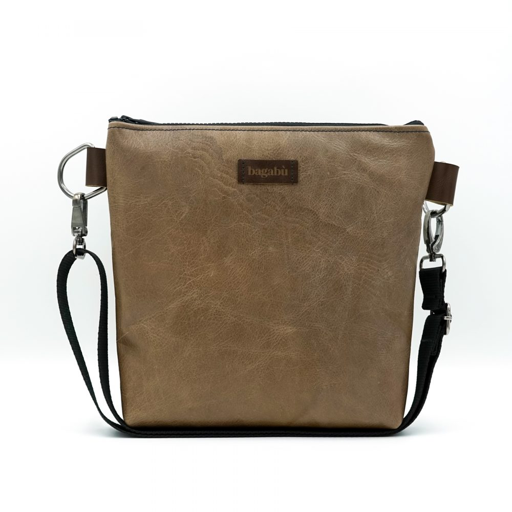 light brown leather hand bag