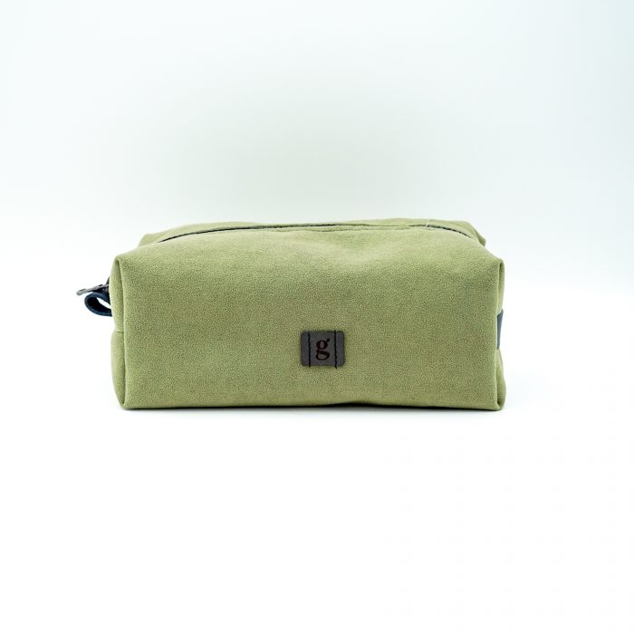 light green toiletry bag