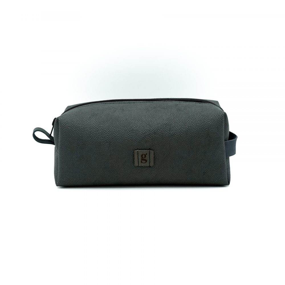 Dark gray travelling bag