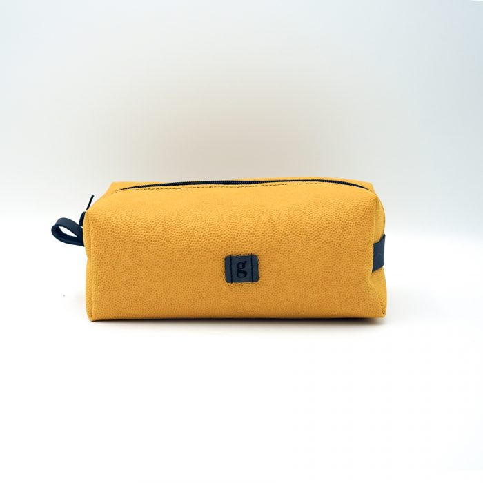 orange travelling bag