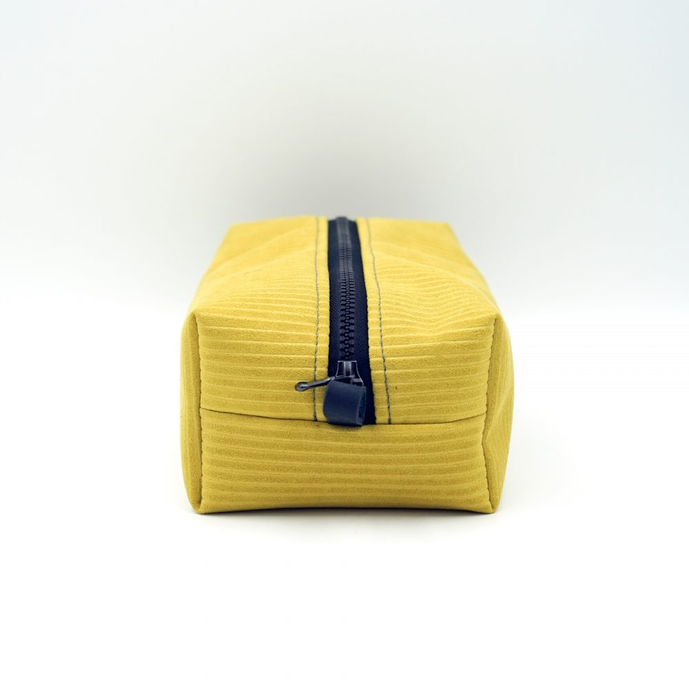 yellow makeupbag