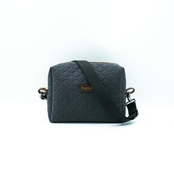 dark gray bag